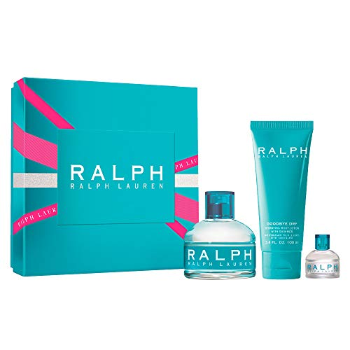 Ralph Lauren Ralph For Women 3-Piece Set (3.4 Ounce Eau De Toilette Spray / 0.25 Ounce Eau De Toilette Spray / 3.4-Ounce Body Lotion)