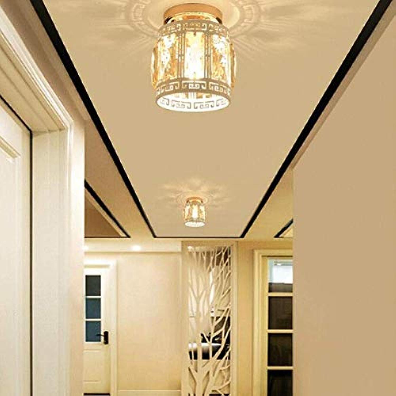 BOSSLV Iron Art Deckenleuchte Moderne Deckenleuchte, Deckenstrahler Halbbündiger Einbauleuchte Balkonbeleuchtung Treppen Korridor Licht 15X15Cm