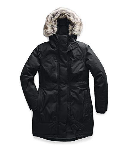 The North Face Women's Downtown Parka, TNF Black, M