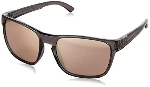 Under Armour Glimpse Gafas de sol cuadradas, (Cristal brillante ahumado/gris con espejo.), Medium/Large