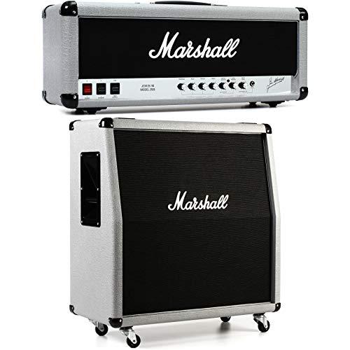 "Marshall 2555X Silver Jubilee and 2551AV 4x12"" Cab Half Stack Bundle"