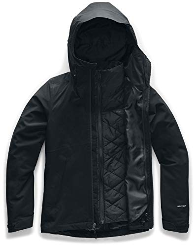 The North Face Women's Carto Triclimate Jacket, TNF Black, 1X
