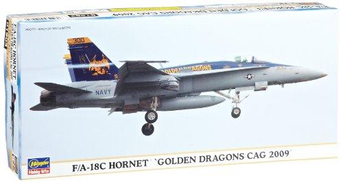 Hasegawa F/A-18 C Hornet Gldn Dragons Cag '09 limitée Modèle kit