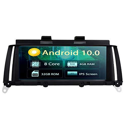 ROADYAKO 8,8 Pouces Android 8.1 Navigation de Voiture pour BMW X3 F25 2014 2015 2016 X4 F26 2014 2015 2016 Voiture CD Radio Stéréo GPS 3G WiFi Lien de Miroir RDS FM AM Pas de DVD