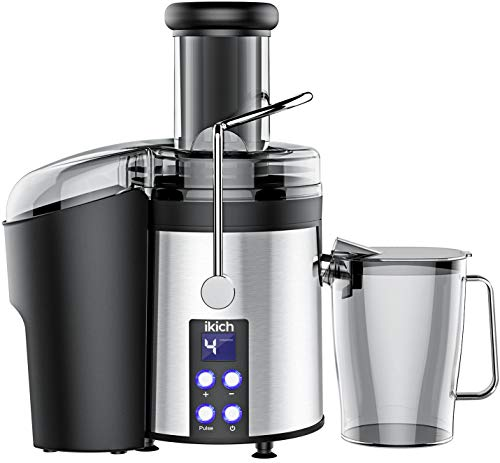 Best Deals! IKICH Centrifugal Juicer 4 Speed Juice Extractor Creates More Juice and High Nutrient, D...