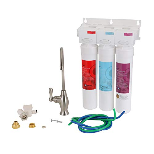 Watts Premier Pure UF-3 3-Stage Water Filtration System, 531130