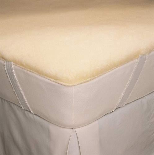 Hot Sale SnugFleece Elite Wool Mattress Pad - Calif. King