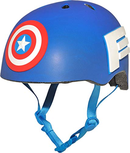 BELL Captain 8034099 America 3D Shield Helmet, Child (5-8 yrs.)
