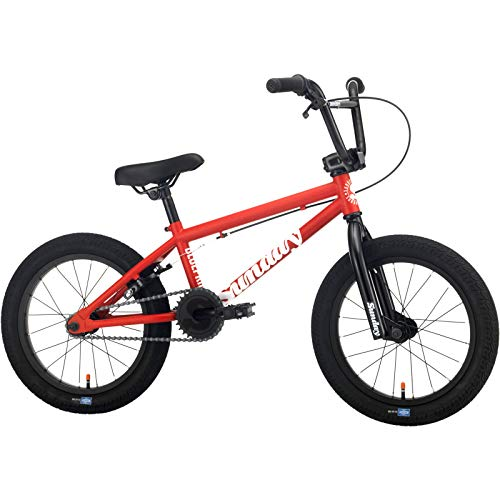 Sunday Blueprint 2021 - Bicicleta BMX (40,64 cm), color rojo mate