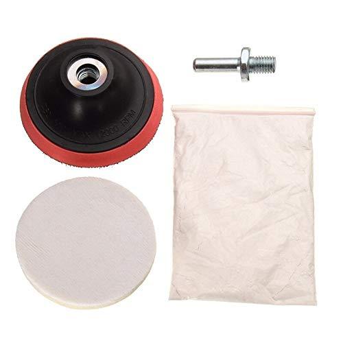 Spin Polieren For Uhrenautoglas-Kratzer Reinigung Polieren Cerium Oxide Polierpulver und 3