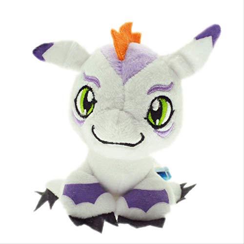 Ylout Digimon Adventure Plüsch Schlüsselanhänger Anhänger Digimon Plüschtier Stofftiere Puppe Für Kinder 10Cm