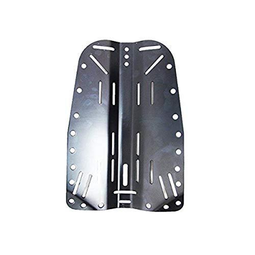 Scuba Choice Scuba Tech Diving Aluminum Black Backplate