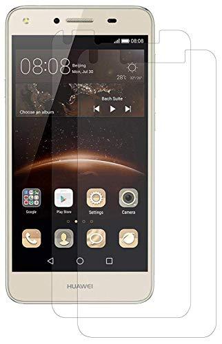 ENERGMiX Schutzfolie kompatibel mit Huawei Y5-2 Bildschirmfolie Folien (2 Stück) - Ultra Clear