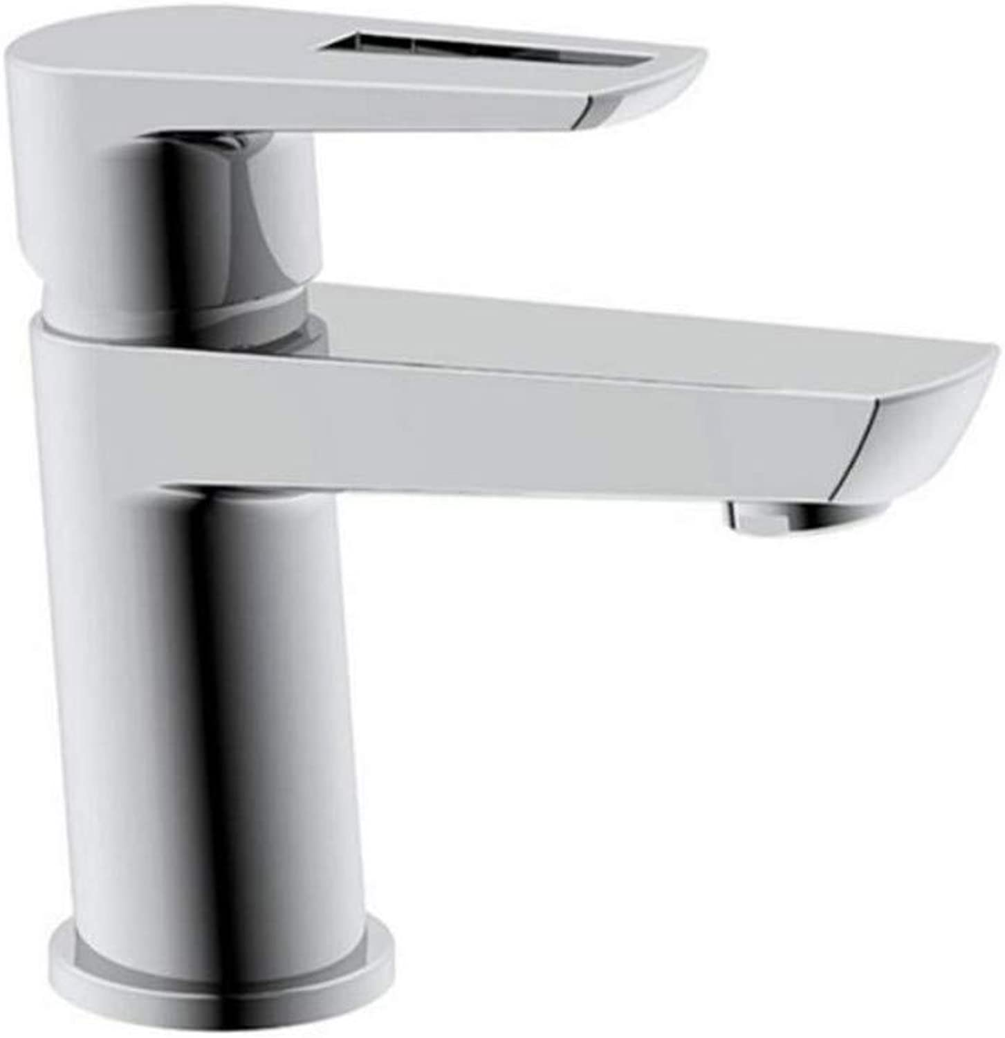 Faucet Lead-Free Square Innovation Copper Bathroom Stainless Steel Basin Faucet