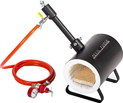 Forgia per fabbri a gas propano e fornace