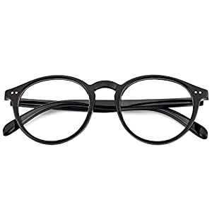 ANTI BLUE LIGHT - IFHTech BLUE LIGHT BLOCKING GLASSES can effectively obstruct injurious blue light, ultraviolet radiation ,provide 100% UV400 protection ,it is suitable for those who need to watching digital screens for long periods of time. TRANSPA...