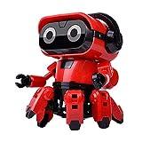 Roboter Spielzeug Kinder Planet Guardian Robot Magnetische Bausteinverformung Fit DIY Magnetische Baustein Spielzeug Weihnachten Geschenk