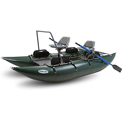 Best Deals! Outcast Fish Cat 13 - Green - Pontoon Boat