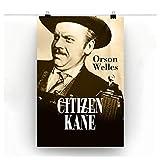 hutianyu Citizen Kane Film Vintage Poster Druck Leinwand