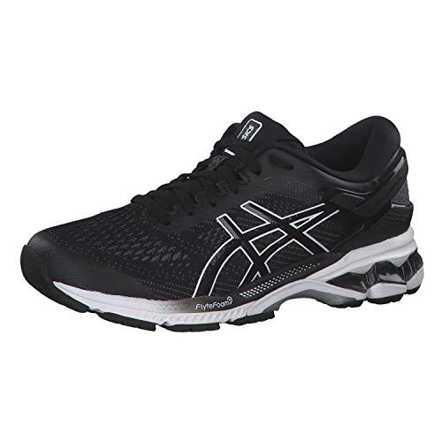Asics Gel-Kayano 26, Zapatillas de Running para Mujer, Negro (Black/White 001), 37 EU