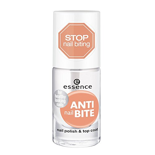 essence - anti nail bite nail polish & top coat