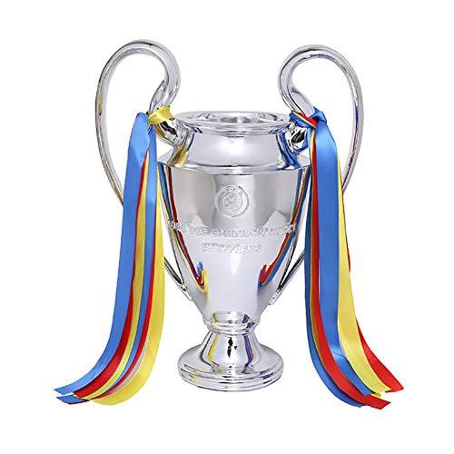 REWQ Trofeo de fútbol de la Premier League, 2018 Coupe du Monde de la Ligue de Football Trofeo de fútbol Memorial Conservador Resistente a la corrosión recuerdo-32cm