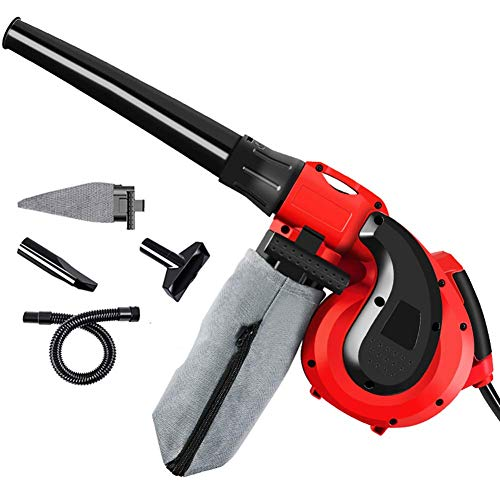 YYhkeby Corded Leaf Blower Vacuum 2 In 1,2900W Electric Garden Leaf Blower for Clean Dust and Small Garbage,Cars,Computer Ho. Jialele