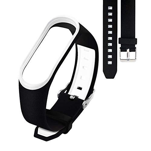 YANGSANJIN Smart Armband, wasserdichte Ersatzbänder für Xiaomi M3, buntes Silikon Smart Armband für Xiaomi Mi3 Fitness Armbänder (zufällige Farbe)