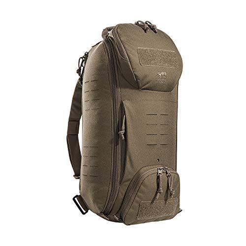 Tasmanian Tiger TT Modular Sling Pack 20 Modularer Daypack Molle-kompatibel Schulter-Rucksack Umhänge-Tasche 20 Liter (Coyote Brown)