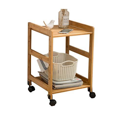 DQMSB Table de Chevet Mobile, Petite Table Basse dans l'armoire latérale du Salon, Quatre Tailles Disponibles (Taille : 45 * 38 * 55CM)