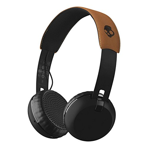 Skullcandy Grind Bluetooth Wireless On-Ear Headphones with Built-In Mic