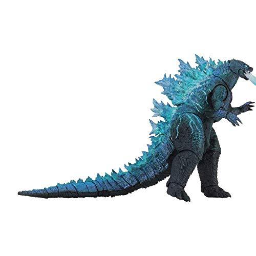 GGGJJJ Godzilla vs Kong Toy 2021,Godzilla with Heat Wave,King Kong vs Godzilla Toys Skull Island,Gifts for Movie Fans Kid Adult Atomic Blast Godzilla-Godzilla