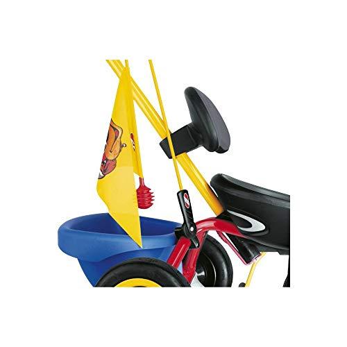 Puky SW 2 veiligheidswimpel voor driewielers en co-Carts, geel