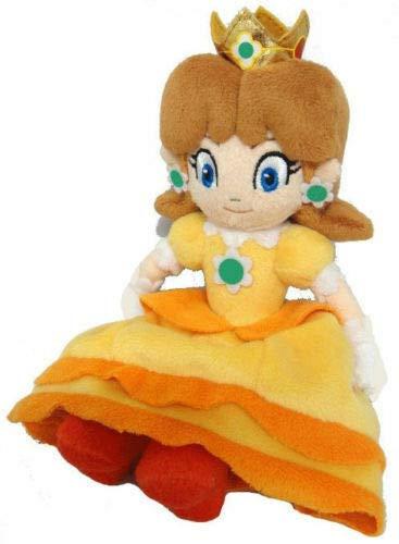 wwwl Juguete De Peluche Bebé Niña Peluches para Niños Personajes De Dibujos Animados Suaves Super Mario Bros. 8 Pulgadas Princesa Daisy Peluches Muñecas De Juguete
