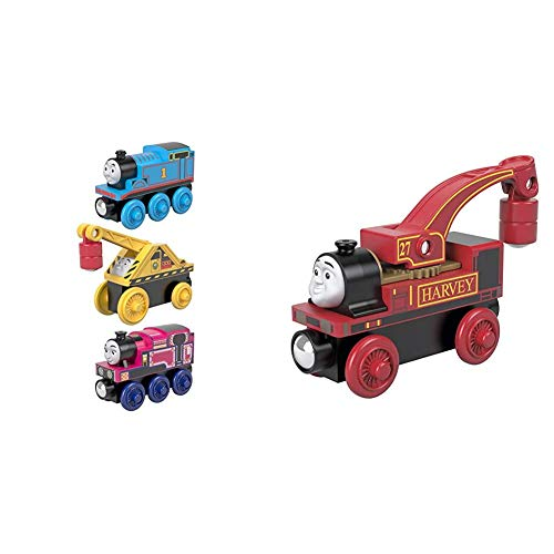 Thomas & Friends Fisher-Price Small Engine, These Wood Toy Trains Help Kids Experience a World of Imaginative Play as They...
