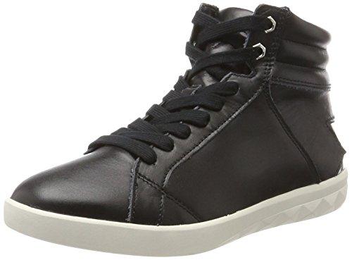 Diesel Damen Solstice S-OLSTICE MID W - s Y01572 Hohe Sneaker, Mehrfarbig (Black/Silver), 37 EU