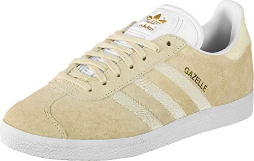 Adidas Gazelle W, Zapatillas de Deporte Mujer, Crema (Tincru/Tincru/Ftwbla 000), 37 1/3 EU
