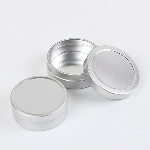 KINGDUO Bouteilles Rechargeables Vide Pot Cosmétique Jar Étain Récipient 10Ml/20Ml-10ml