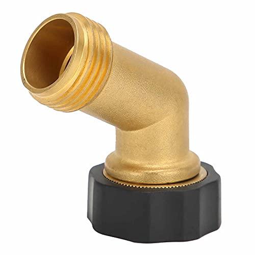 Accesorio de codo de tubería, adaptador de conexión de codo de 135 grados, rosca hembra G3/4 para riego de granja de jardín