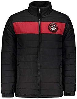 アトレチコパラナエンセ ジャケット 公式ダウンジャケット フード付き ブラック