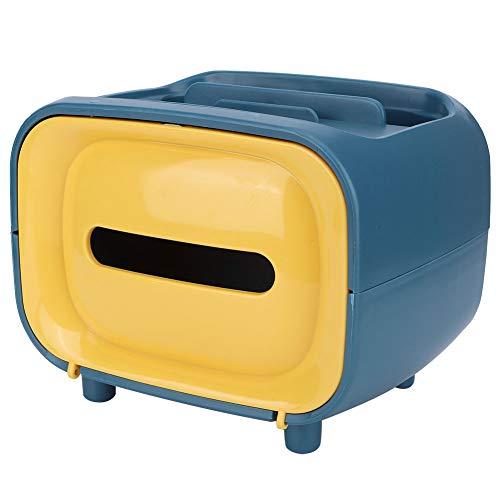 Toiletpapierhouder, antislip magnetische waterdichte tissuedoos, waterdichte intieme badkameraccessoires voor een gezinswoning (retro geel)