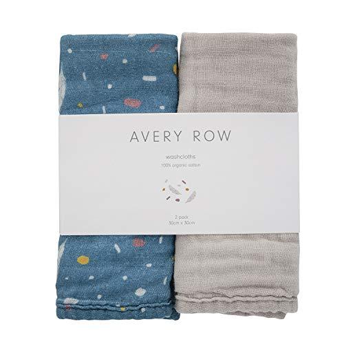 Avery Row Gants de toilette en mousseline 0,1 kg
