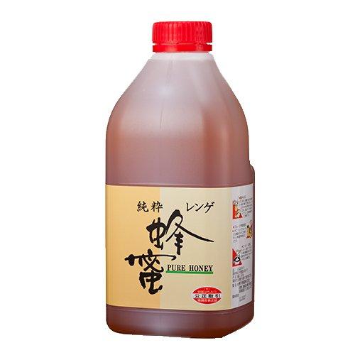 [熊手のはちみつ] 中国産 レンゲはちみつ (ポリ 2.5kg) 100%純粋 ハチミツ 蜂蜜