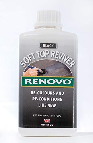 500ml Soft Top Reviver Black
