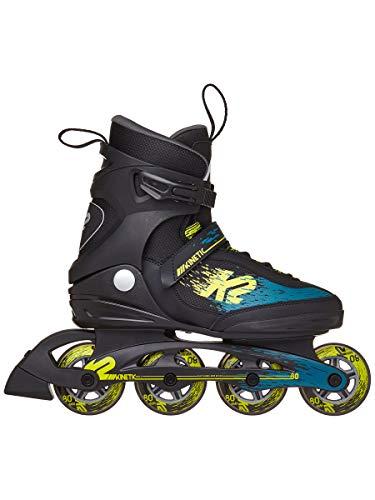 K2 Skate Herren Kinetic 80 Inlineskate Schwarz Grün Gelb 5