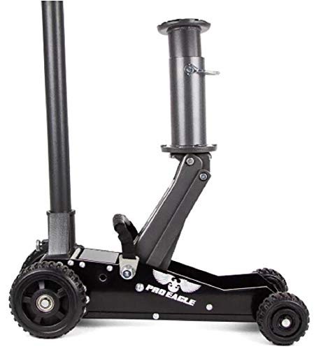 Pro Eagle 1.5 Ton Big Wheel Hydraulic Off Road Jack, for Lifted, 4WD, and Extreme Vehicles
