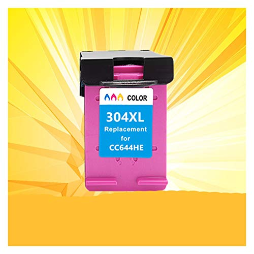 WTBH Cartucho de Tinta 304 304xl HP304 Tinta Cartucho es Adecuado para HP DeskJet Envy 2620 2630 2632 5030 5020 5032 3720 3730 5010 Impresora Reemplace el Cartucho de Tinta (Color : 1Pack Tri Color)