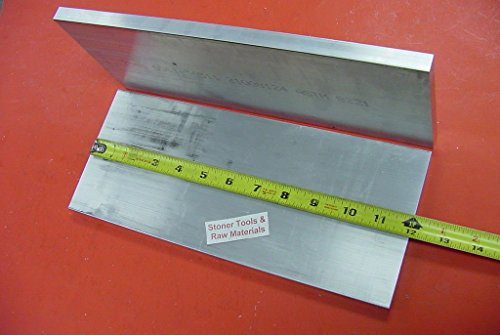 "2 Pieces 1/2"" X 6"" Aluminum 6061 Flat BAR 12"" Long +.07""/-0 Extruded Plate Mill Stock Solid. This is Extruded bar not Sanded or Polished and May Have Scratches from handling."