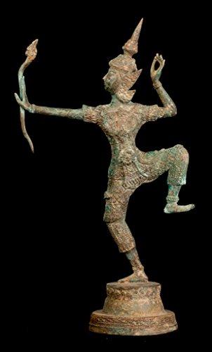 HD Asiatische Kunst Antik thailändischer Stil Bronze Thai Rama–Avatar von Vishnu