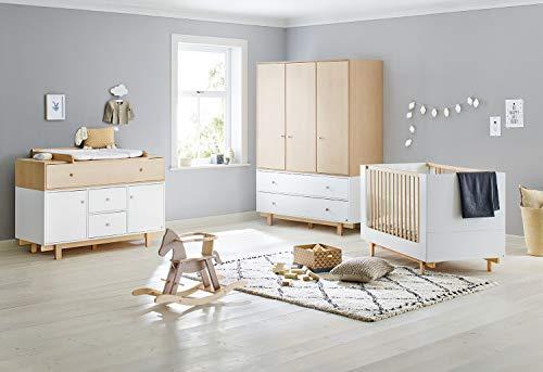 Pinolino 103403XY Boks - Habitación infantil con 3 puertas (tamaño extragrande), color gris